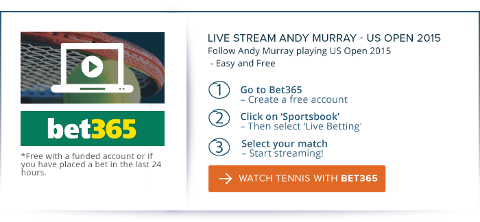 Live Streaming US Open 2015