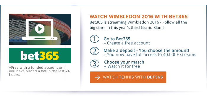 Live Streaming Wimbledon 2016